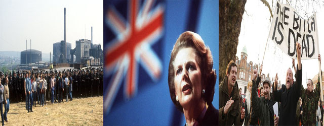 Margaret Thatcher Banner